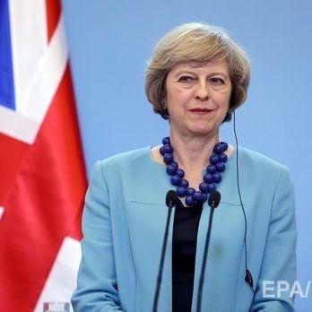 Мей у вівторок оприлюднить план по виходу Великобританії з ЄС