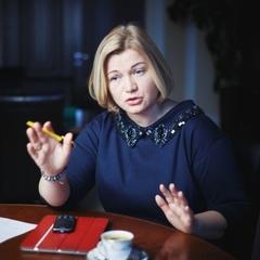 Геращенко показала таємний хід із кабінету віце-спікера Ради
