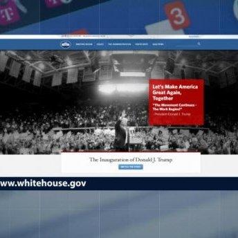 Жити по-новому: сайт Білого дому позбувся розділів про ЛГБТ та клімат