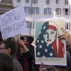 Тисячі жінок в Європі протестують проти Трампа: фото
