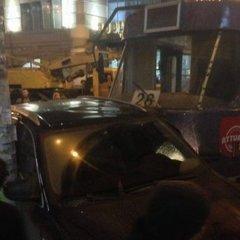 Трамвай протаранив 5 машин в Одесі: опублікували фото