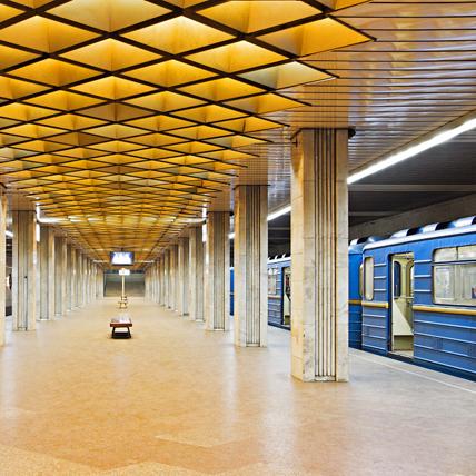 Станцію «Видубичі» закрили на вхід і вихід