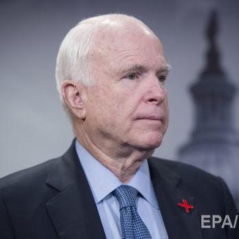 Маккейн про зняття санкцій проти РФ: Заради національної безпеки США, сподіваюся, Трамп покладе край цим спекуляціям