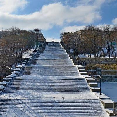 Потьомкінські сходи в Одесі закрили на три місяці