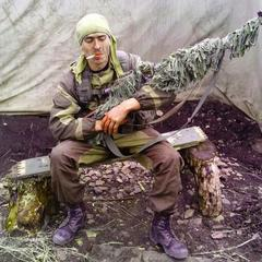 Російський снайпер Олександр Чеберов був знищений під Авдіївкою (фото)