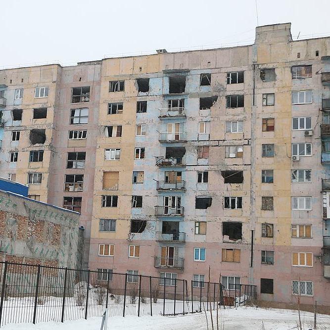 Рятувальники показали масштаби руйнувань Авдіївки (фото)