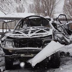 ОБСЄ повідомила подробиці вибуху автівки головного «міліціонера» «ЛНР»
