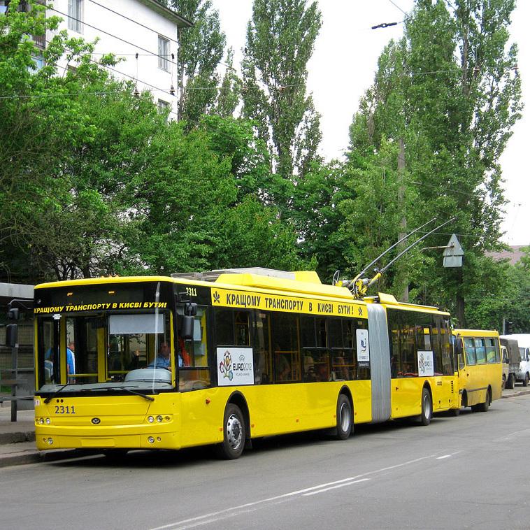 Водії тролейбусів столичного депо оголосили голодування