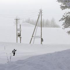 Коли є мета. Росіянин пройшов 30 км на лижах, щоб пограбувати магазин
