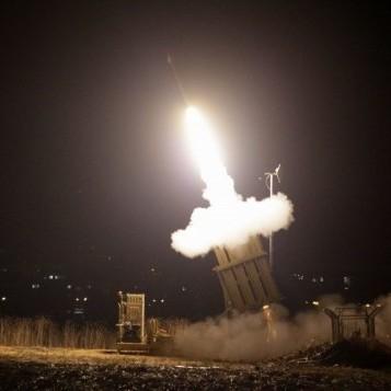 Як працює ізраїльський Залізний купол: відео перехоплення ракет