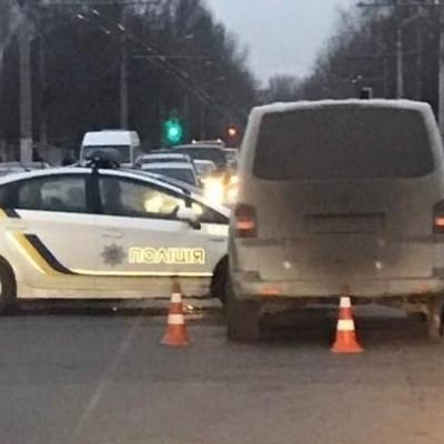 В Одесі водій мікроавтобуса зробив поліції «подарунок» на 14 лютого