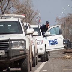 В окупованому Донецьку відбулася так звана «акція протесту проти місії ОБСЄ»