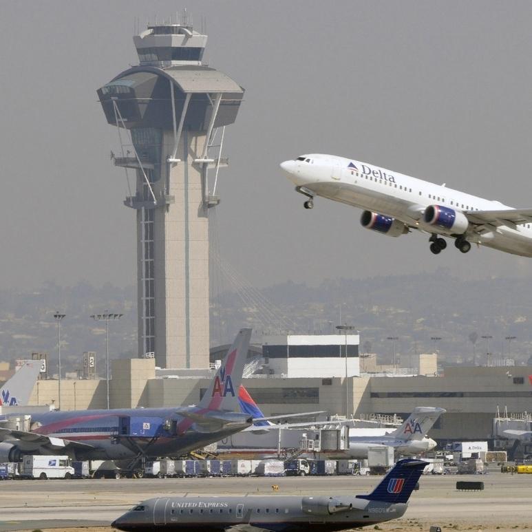 Олень завадив літаку покинути злітну смугу (Фото)