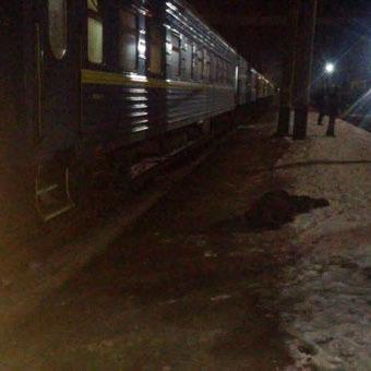 У Краматорську чоловік стрибнув під потяг