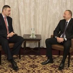 Кличко обговорив з Президентом Азербайджану інвестиції в Україну та перспективи спільних проектів
