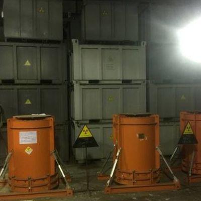 Ядерний могильник ліквідували в Україні