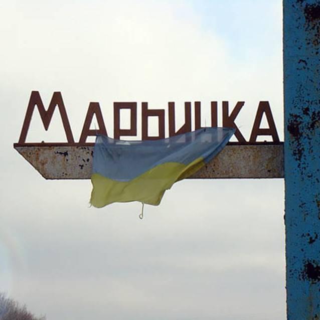 Відбувся обстріл бойовиками КП «Мар'їнка»