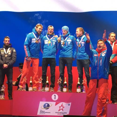 На чемпіонаті світу з біатлону переплутали гімн Росії, – ВІДЕО