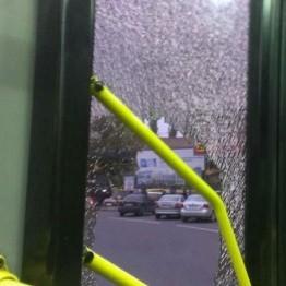 На Борщагівці пасажири видавили двері тролейбуса