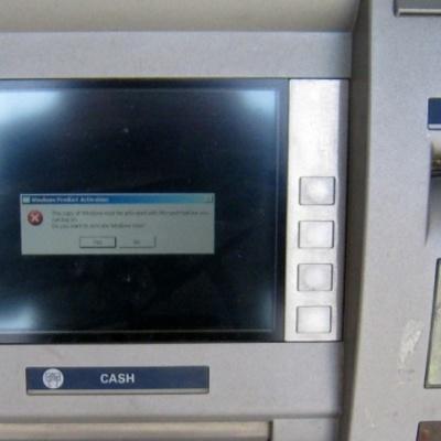 Колишній прцівник СБУ «обчистив» банкомат у Сумах