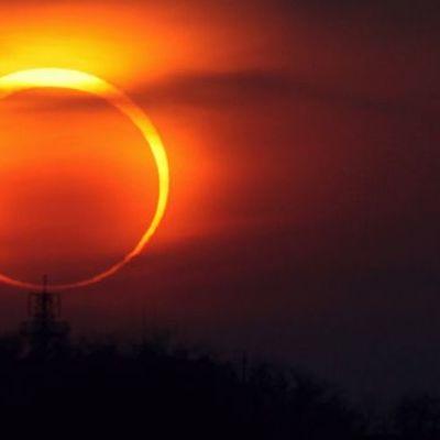 В неділю очікується незвичайне сонячне затемнення
