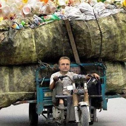 Садовий «підкинув» львівське сміття на Полтавщину