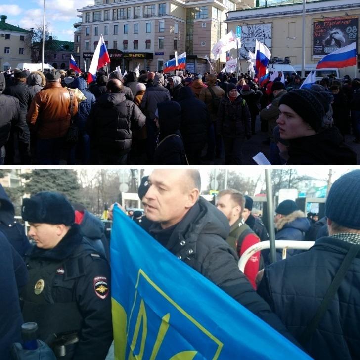 В Росії проходять марші пам'яті Бориса Немцова (фото)