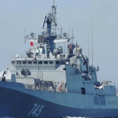 Свій новий смертоносний фрегат Росія відправила до берегів Сирії