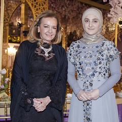 Дочка Кадирова представила в Грозному свою першу колекцію вечірніх нарядів (фото)