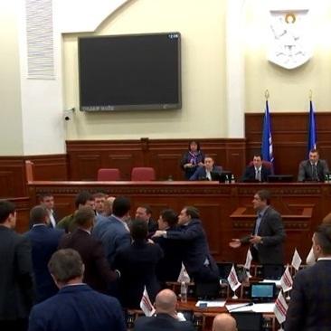 У Київраді депутати побилися через Кличка