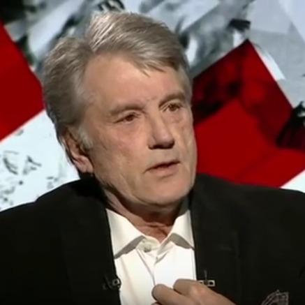 Ющенко прочитав полякам лекцію про Бандеру російською мовою (відео)