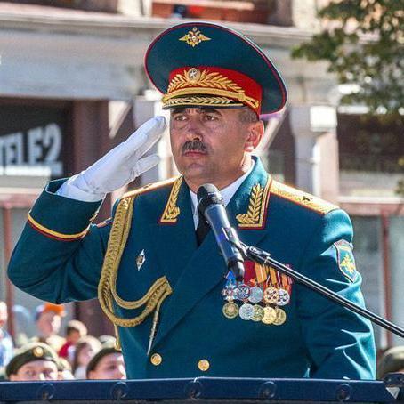 Російський генерал підірвався на міні під Пальмірою