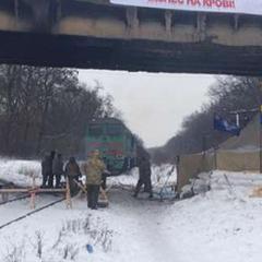 «Укрзалізниця»: на Луганщині відновлено рух поїзда, зупинений блокадою