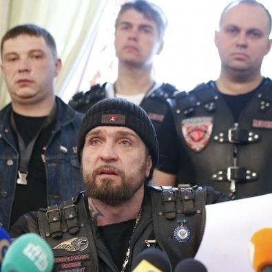 В Росії байкери влаштували мітинг в підтримку бойовиків на Донбасі