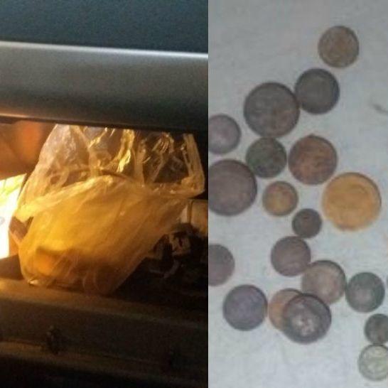 На Сумщині чоловік намагався вивезти до Росії 50 рідкісних монет