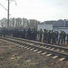 В Конотопі зняли блокаду із залізниці