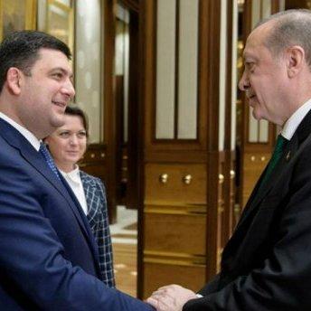 Про що говорили Гройсман та Ердоган у Туреччині