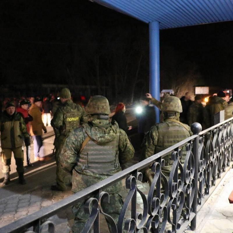 Конфлікт силовиків і блокадників: Аброськін повідомив про відкриття справи за фактом нападу на поліцейських