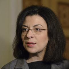 Сироїд прокоментувала заяву БПП і «Народного фронту» щодо своєї відставки