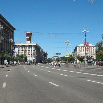 Частину вулиць центру Києва перекриють через проведення фестивалю
