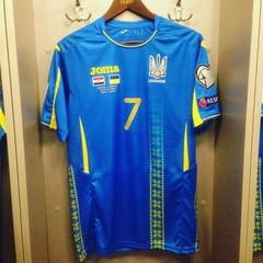 Павелко представив нову форму збірної України (фото, відео)