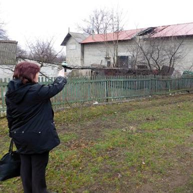 Черговий обстріл бойовиками житлового масиву Авдіївки та Мар'їнки (фото)