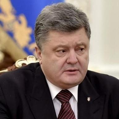 Порошенко заявив, що в Україні немає конфлікту на Сході (відео)
