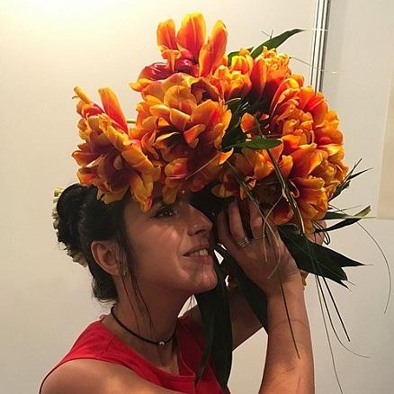 Джамала презентувала квіти імені себе (фото)
