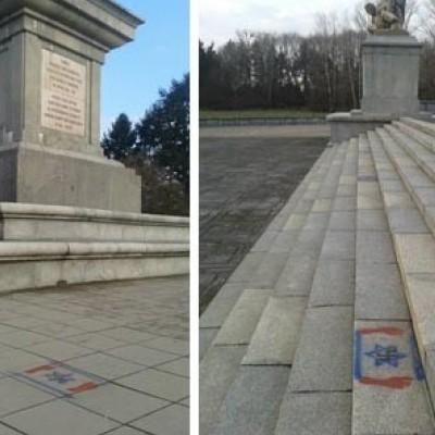 Невідомі познущались над найбільшим в Польщі кладовищем радянських солдатів