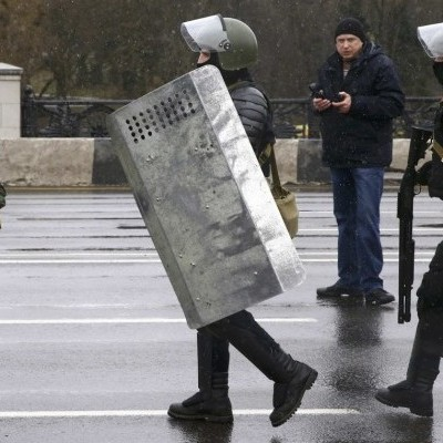 Масово затримують активістів і журналістів у Білорусі на акціях до Дня Волі (фото, відео)