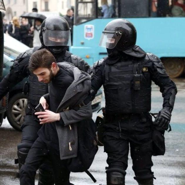Розгін протестуючих у Мінську. З'явилося відео