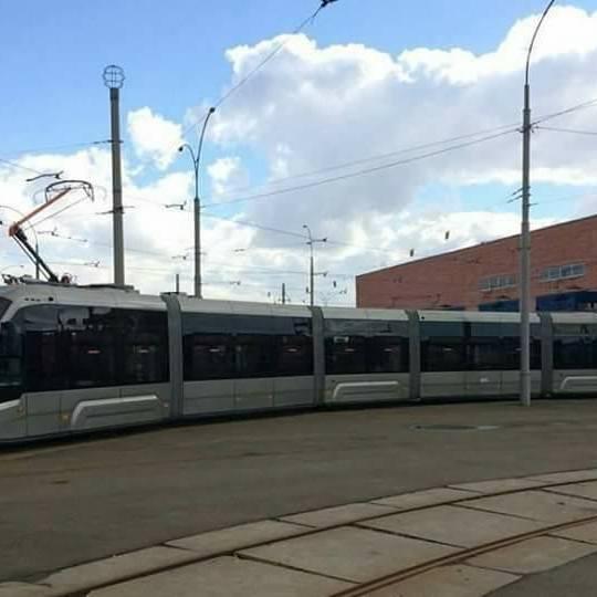 У Києві запустили ще один надсучасний український трамвай