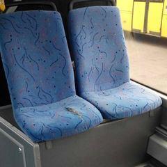 У «Київпастрансі» поскаржилися на пасажирів, які псують автобуси (фото)