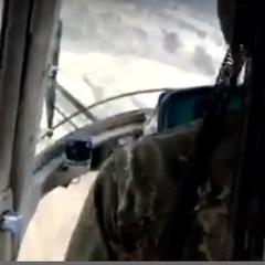 Опубліковано відео з гелікоптера Мі-2 перед катастрофою під Краматорськом